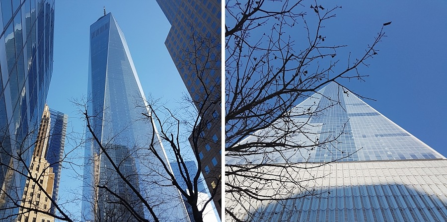 Financial district new york city one world trade manhattan