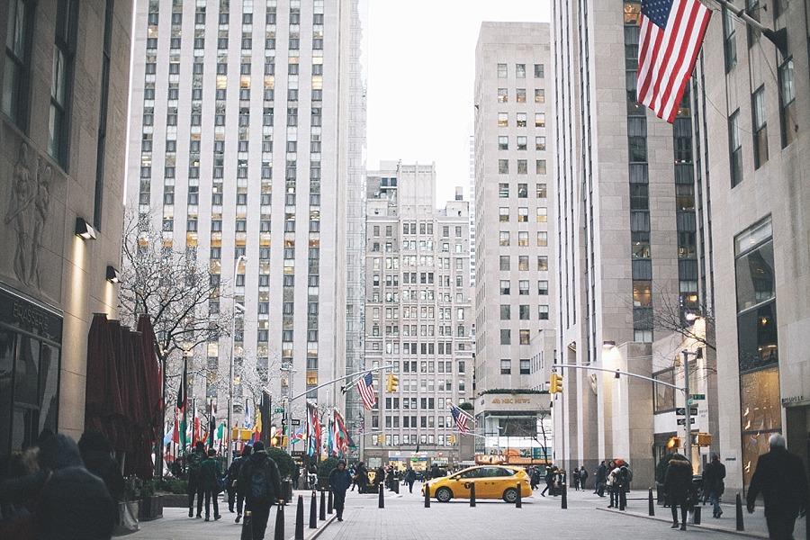 New york city manhattan USA rockefeller center