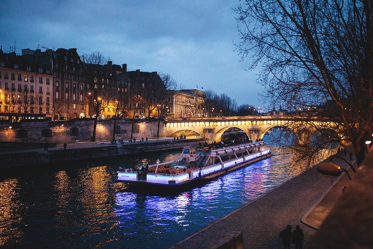 Séjour amoureux à Paris
