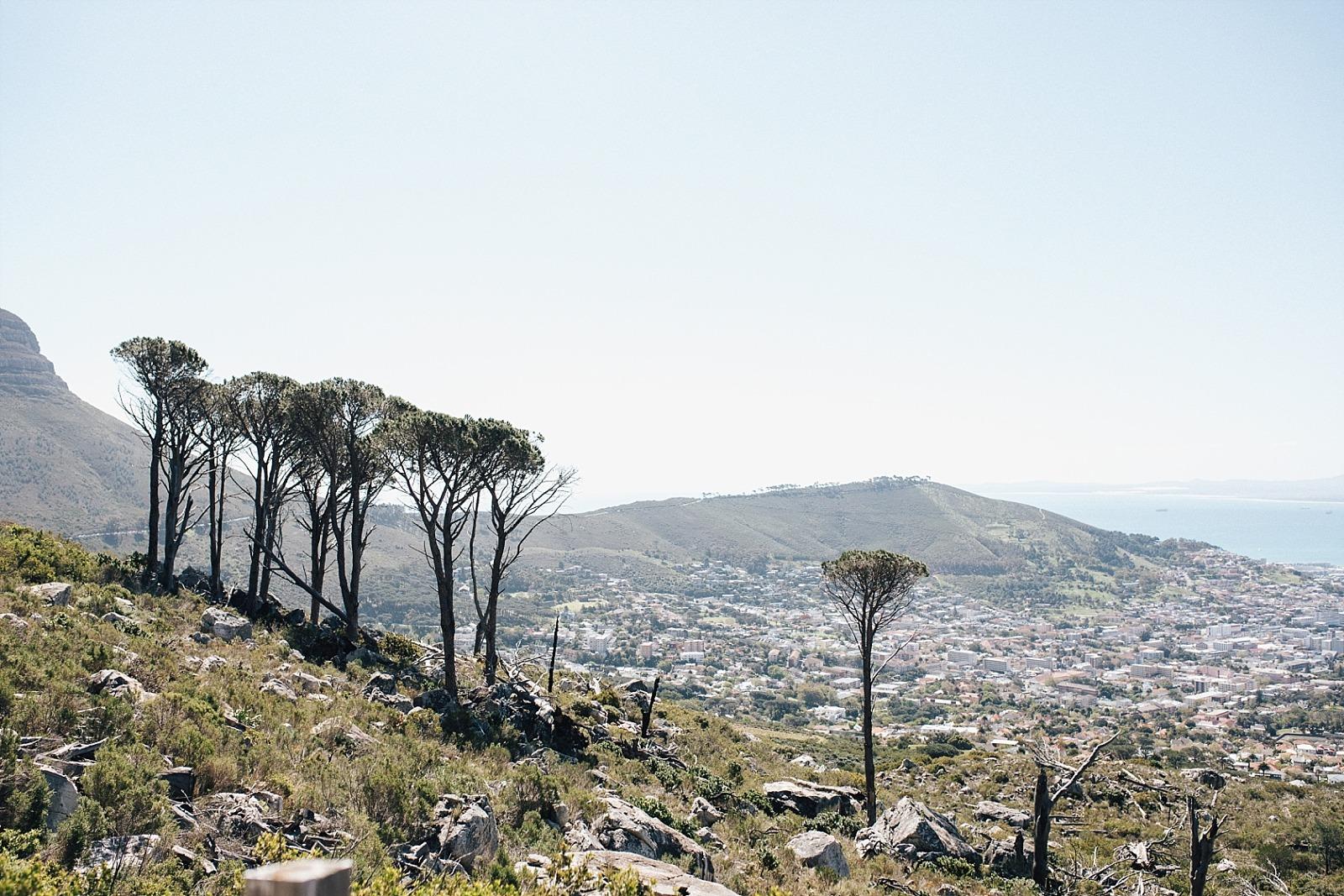 Cape Town afrique du sud Signal hill