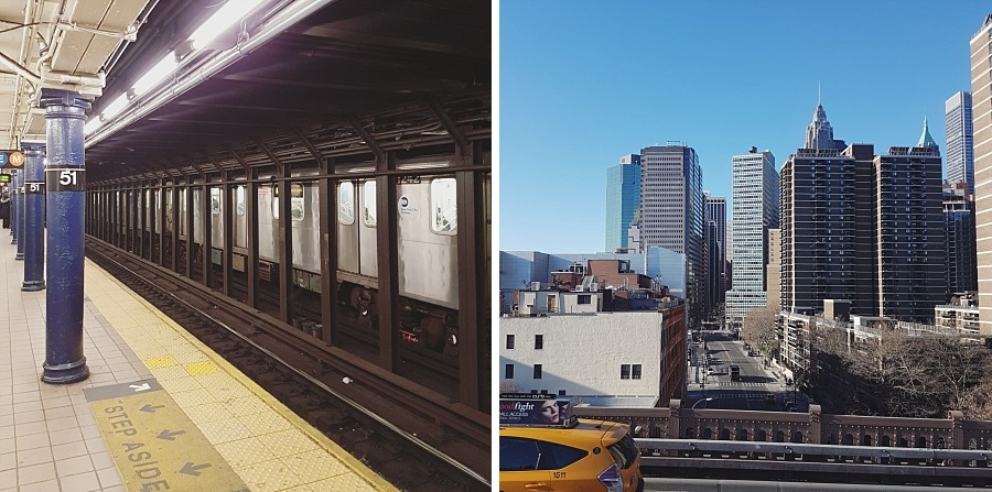 subway new york city Brooklyn