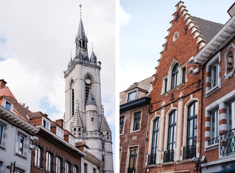 beffroi ville de tournai Belgique