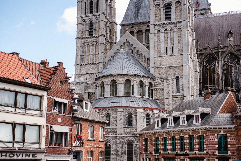Cathédrale notre dame de tournai Belgique