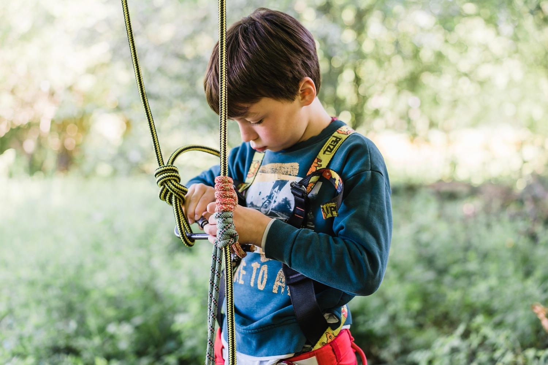 Glamping Cocoon village Grottes de Han camping belgique famille séjour parc animalier Grimpe arbre corde escalade activité nature
