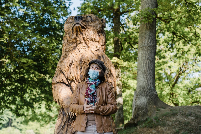 Domaine des grottes de Han Belgique parc animalier excursion famille enfant Province de Namur Histoire d'ours