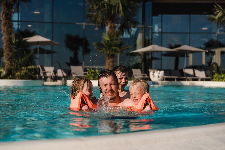 Center parcs terhills resort Limbourg centerparcs vacances en famille Belgique réserve du Connectera aqua garden