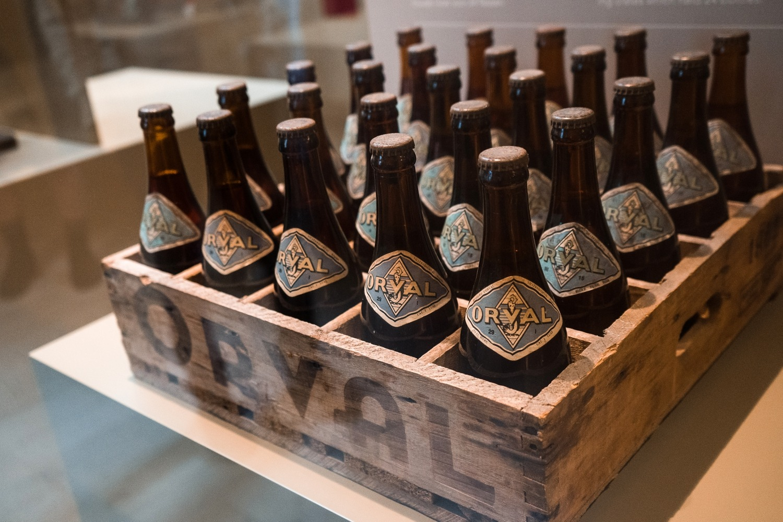Abbaye Notre-Dame d'Orval Gaume Virton famille Wallonie Belgique brasserie bière trappiste