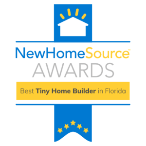Best Tiny Home Builder in Florida Award