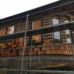 Svängd fasad