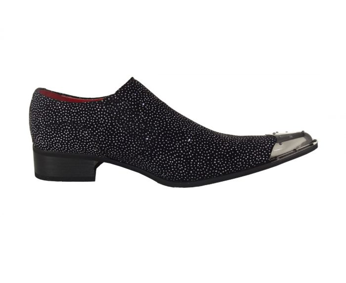 ROSSELLINI benitez carlo POINTED METAL TOE SLIP ON LOAFERS