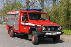 Odense Brandvæsen T2, slangetender på Mercedes-Benz GD. Foto: Tony Frimodt