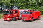 To generationer autosårøjter siden om side. Taastrup M2 og M3. Foto: Henning Svensson
