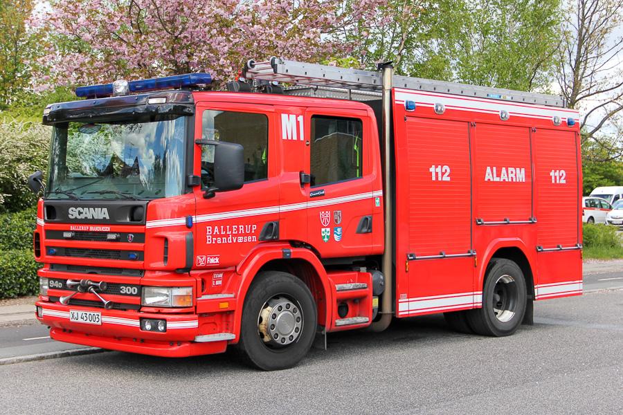 Ballerup M1, Scania 94D 300 med opbygning af SAWO. Foto: Henning Svensson