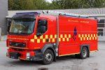 Volvo redningsvogn, Skanderborg. Foto: CLaus Mortensen