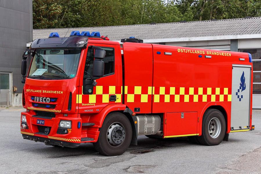Iveco tankvogn, Skanderborg. Foto: Claus Mortensen