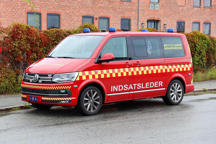 VW indsatslederbil. Foto: Claus Mortensen
