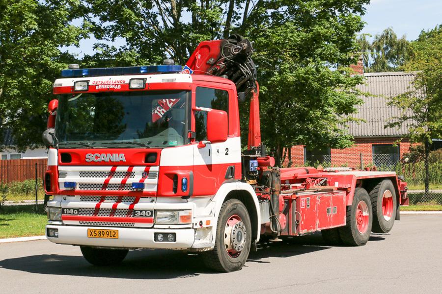 Scania kroghejsbil. Foto: Henning Svensson