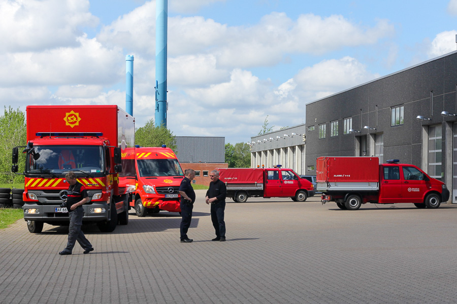 Brand & Redning MidtVest, station Herning. Foto: Tony Frimodt