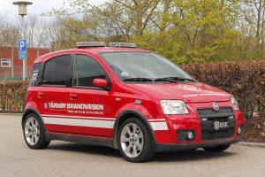 Dem kan der ikke være mange af - lille HSE på Fiat Panda 100 IP. Foto: Tony Frimodt