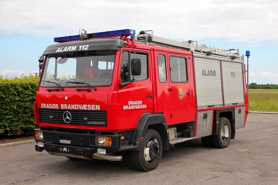 Mercedes-Benz 1017 autosprøjte, ex. Holland, ex. Søllerød Brandvæsen. Foto: Henning Svensson