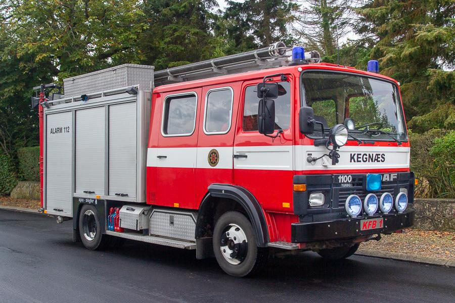 DAF 1100 Turbo sprøjte med Ajax Ziegler opbygning. Dem er der vist ikke så mange af i Danmark. Indkøbt brugt i Holland. Foto: Tony Frimodt