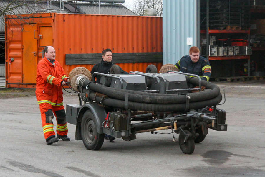 Der rangeres med VW pumper på dobbelt kørestel. Foto: Henning Svensson