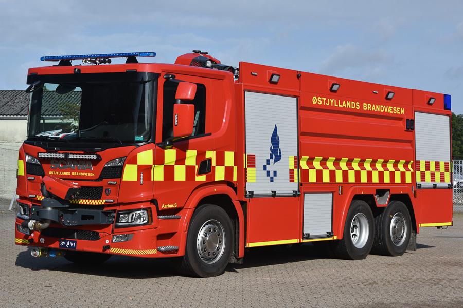 Nye tankvogne til Østjyllands Brandvæsen