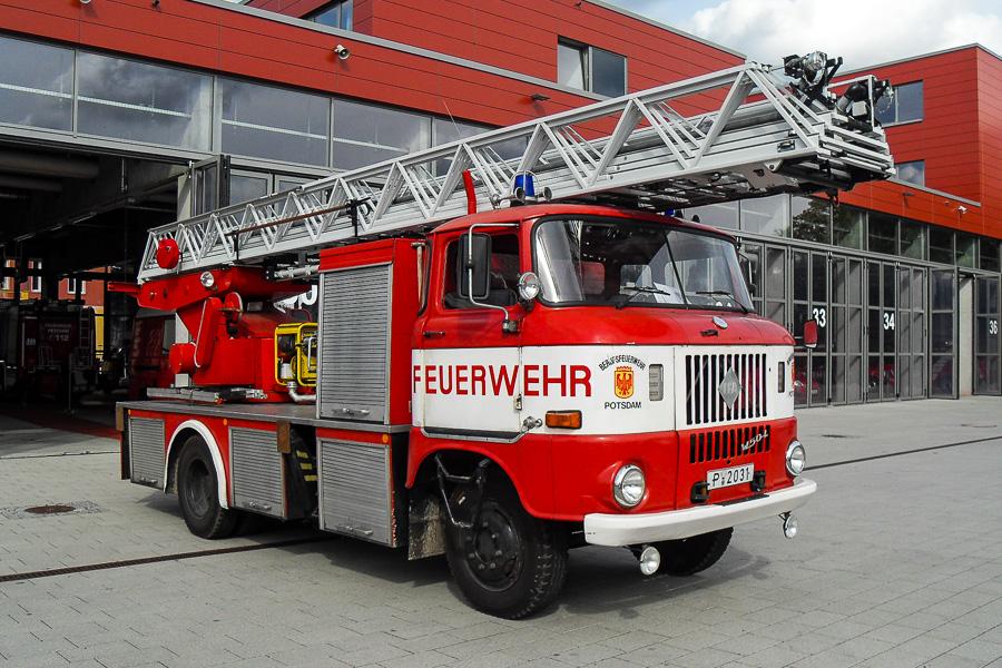 IFA W50 drejestige fra BF Potsdam. Foto: Tony Frimodt