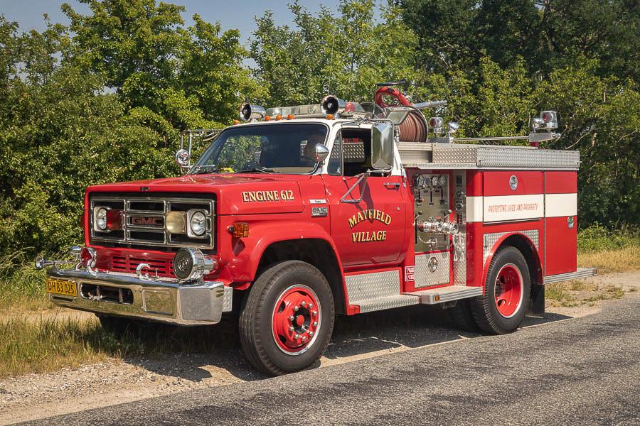 Mayfield Village Fire Department Engine 612. Foto: Tony Frimodt