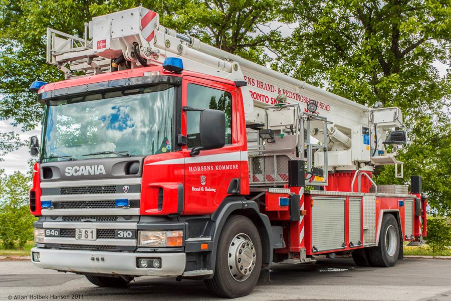 Horsens Kommunes Bronto Skylift. Foto: Allan Holbek Hansen
