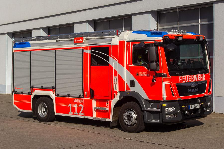 Ny type autosprøjter til brandvæsenet i Berlin. Foto: Tony Frimodt