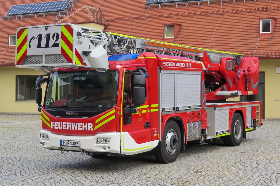 Nye drejestiger til BF München. Foto: Jesper Lind Arpe