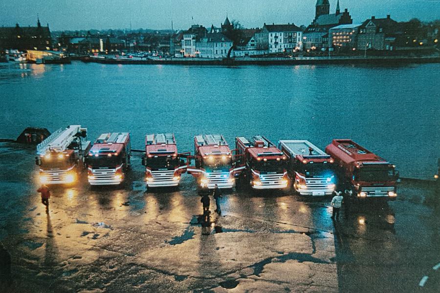 Vi melder fra ! Nr. 1, 2004. Foto: Jesper Lind Arpe