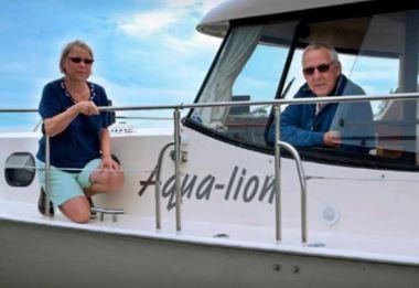 ''Aqua-Lion'' , Betty en Jan van Leeuwen