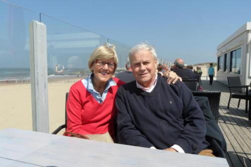 ''Blauwvoet'' , Yvonne en George van Spaendonck