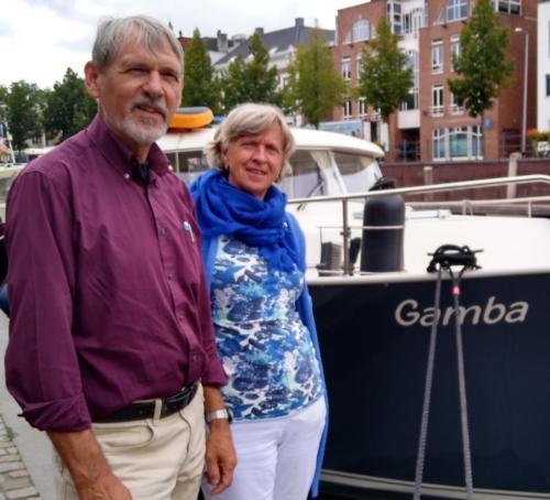 ''Gamba'' , Rian van Houwelingen en Kees Ruissen
