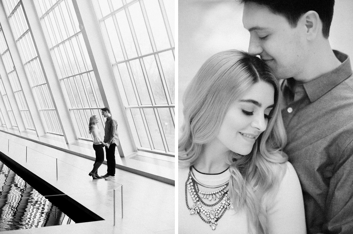 New York engagement session The Met