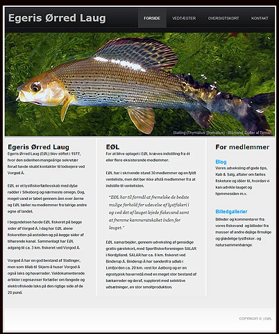 Screnndump af hjemmesiden www.eol.dk