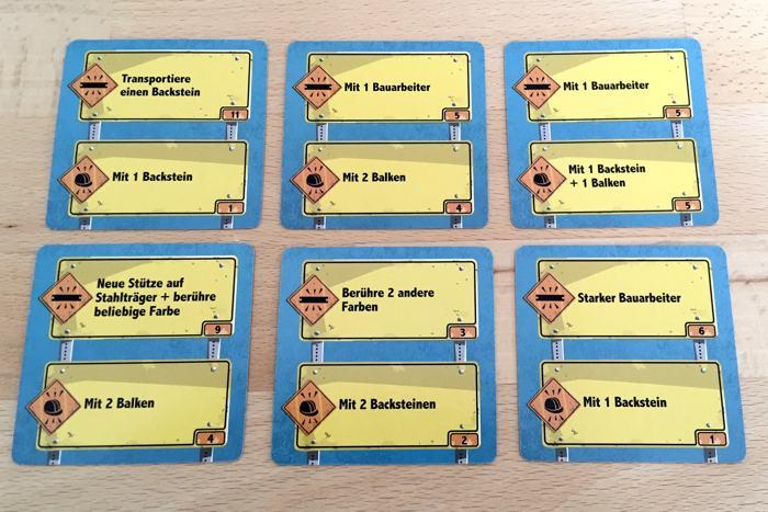 Aufgabenkarten als Beispiele
