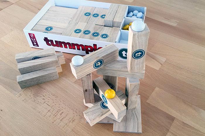 Tummple-Turm: Noch steht alles ganz sicher.