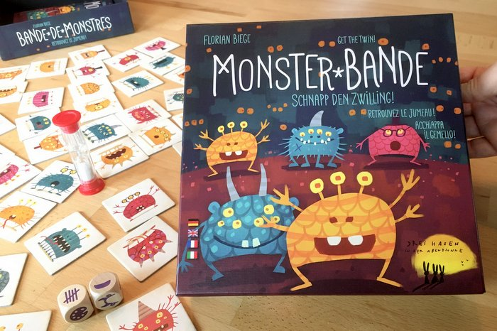Cover des Spiels Monsterband - Schnapp den Zwilling