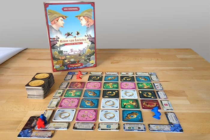 Robin von Locksley: Spielaufbau