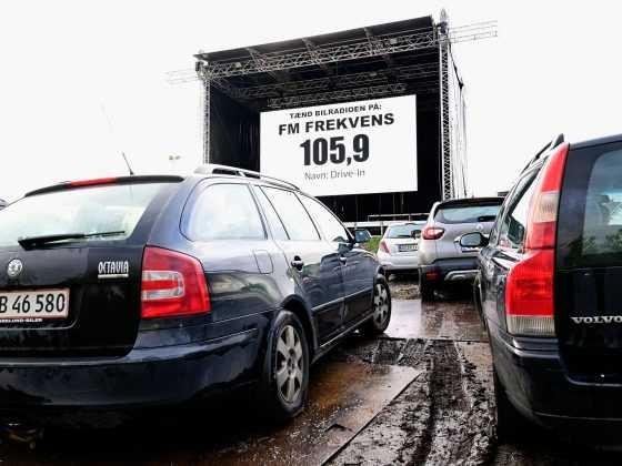 Premiere på Viborgs første drive-in-biograf