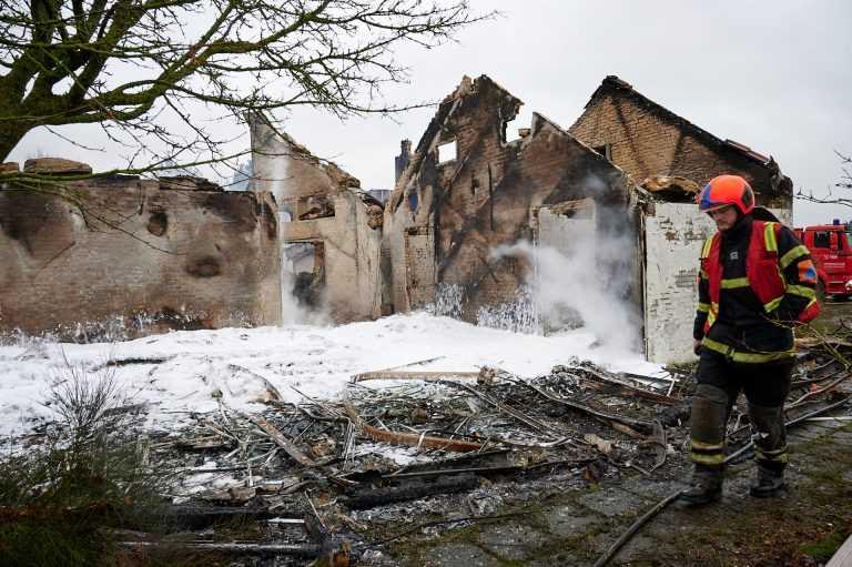 PUK Recording Studios nedbrændte i nat