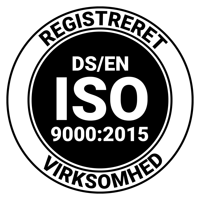 Brica Sikring er ISO 9001:2015 godkendt