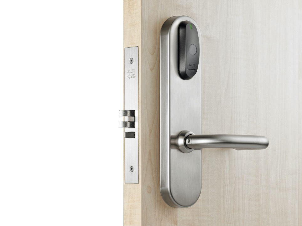 Elektronisk adgangskontrol med Salto leveret af Brica Sikring