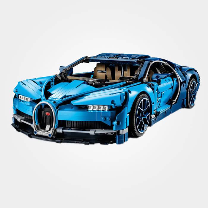 Bugatti Chiron - 'tBrickplezier