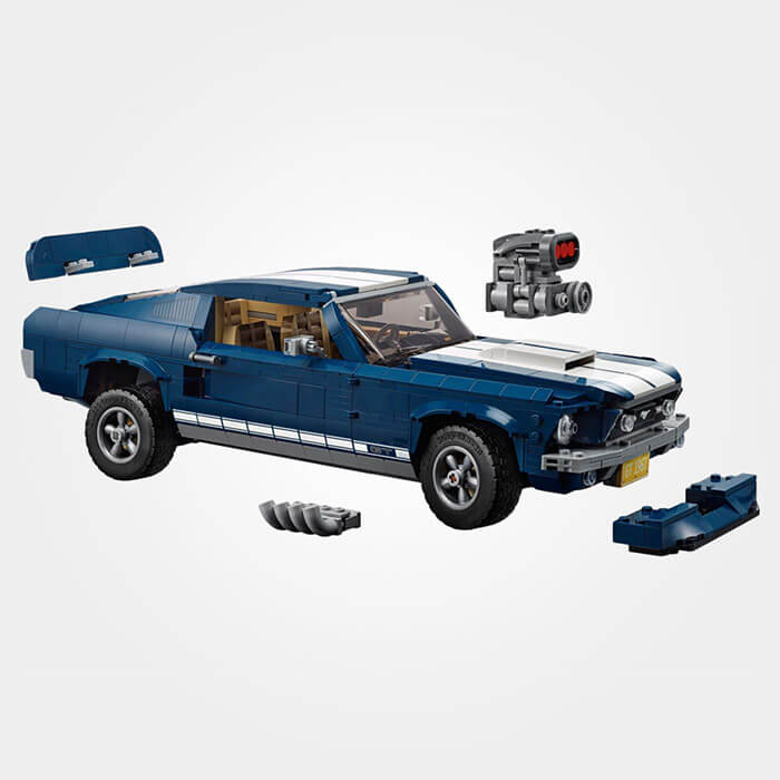 Ford Mustang 1967 - 'tBrickplezier