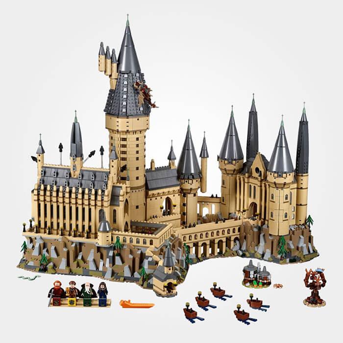 Zweinstein kasteel Harry Potter - 'tBrickplezier