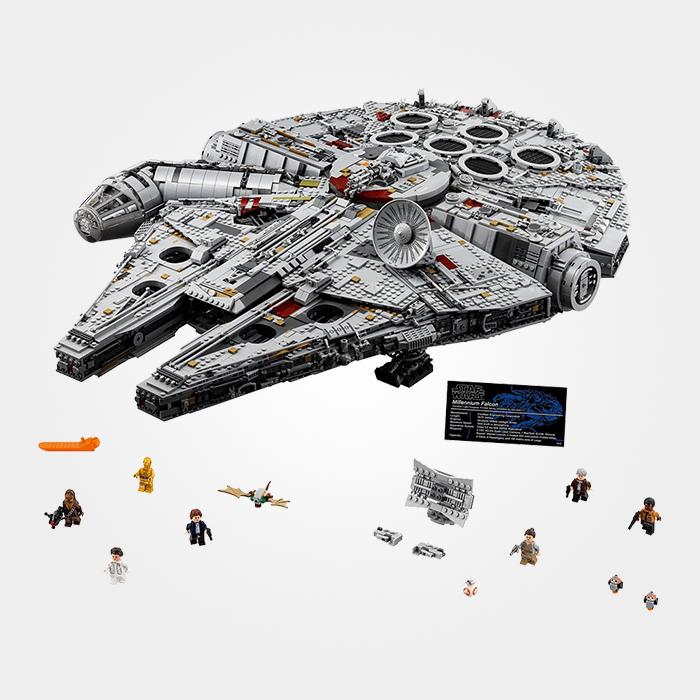 Millennium Falcon 'tBrickplezier